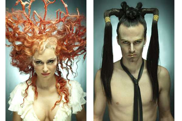 Fantastical Wig Photography