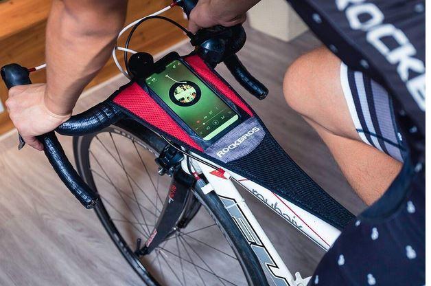 Sweat-Wicking Smartphone Bike Holders