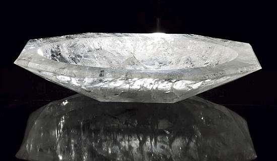 Crystalline Hygiene Rock Crystal Bathtub