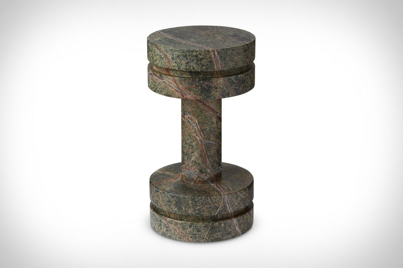 Stylistic Marble Workout Weights