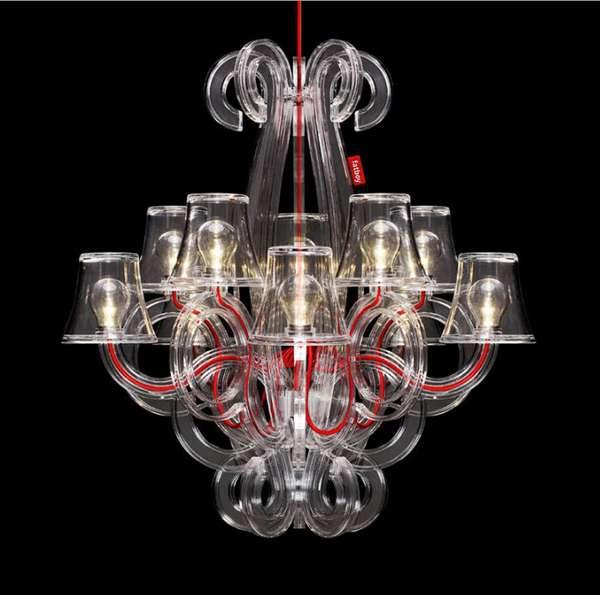 Baroque-Inspired Outdoor Lighting