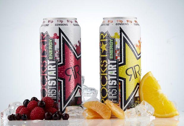 Fruity Morning Energy Drinks