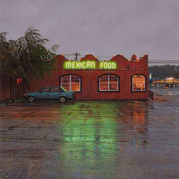 Hyperreal Americana Illustrations