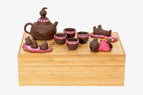 Handcrafted Intricate Tea Sets