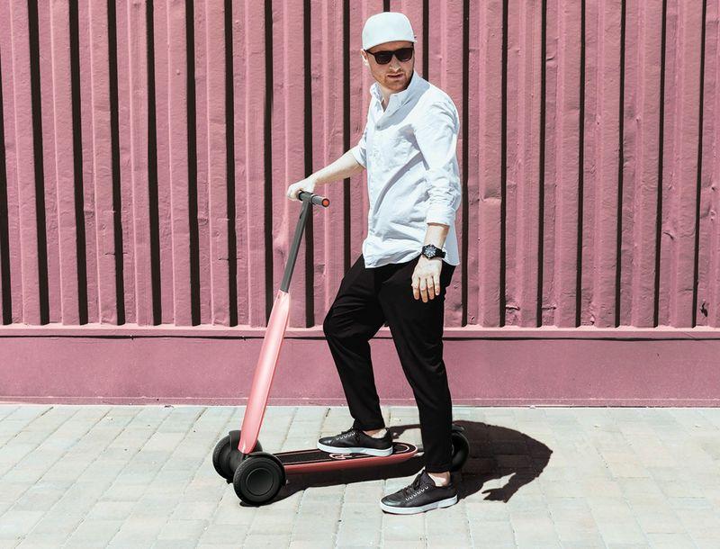 Autonomous Urbanite Scooters