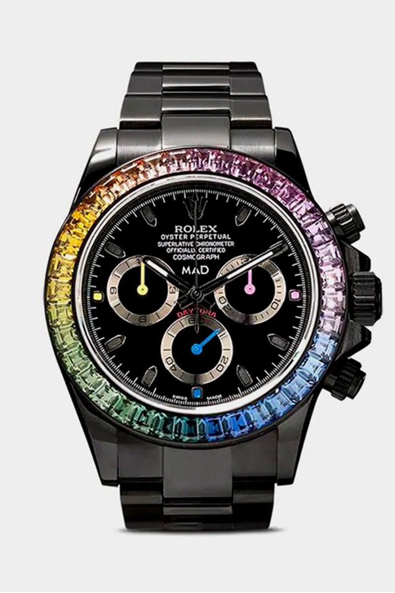 Colorful Spectrum Framed Watches