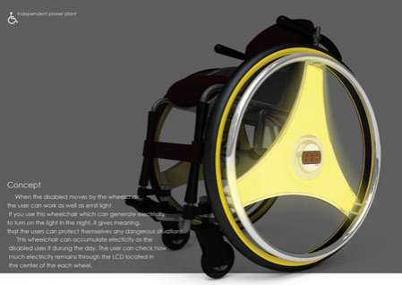 Illuminated Wheelchairs