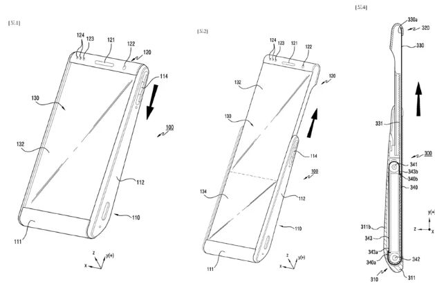 Unconventional Moving Phone Displays