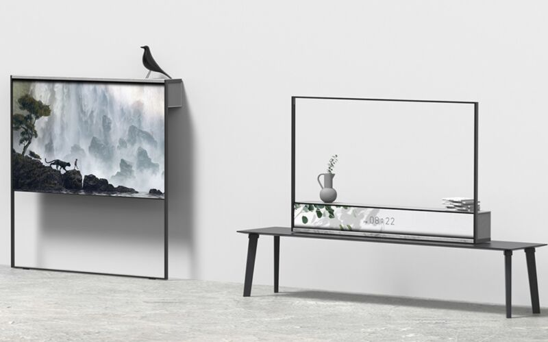 Innovative Rollable TV Concepts