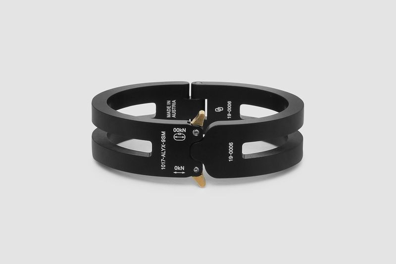 Buckle-Like Industrial Bracelets
