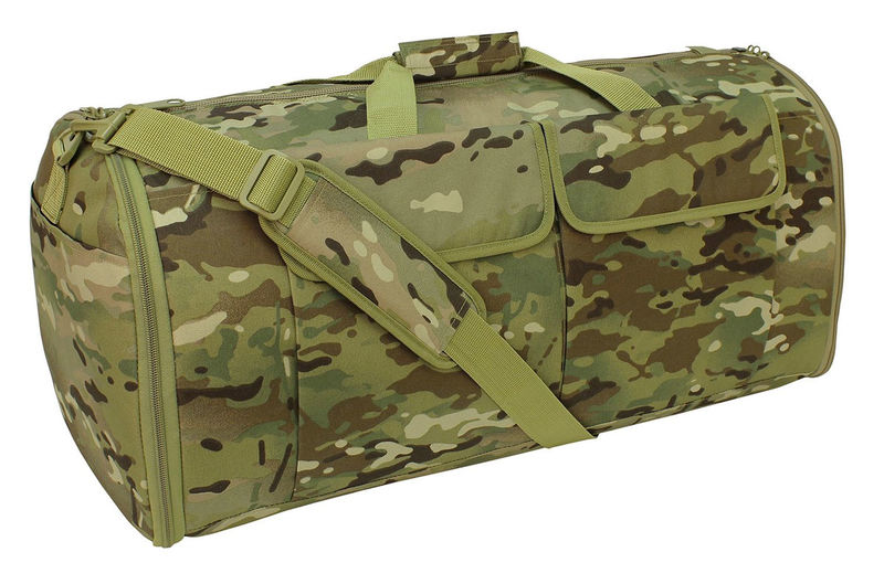 Wrinkle-Deterring Duffel Bags