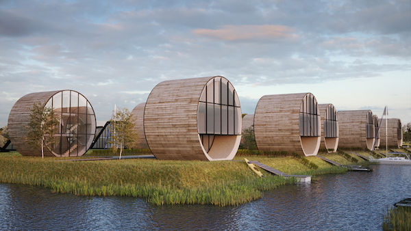 Modern Spherical Houses
