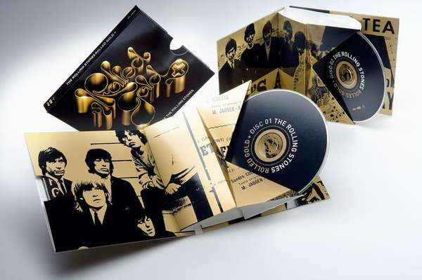 Rolling Stones Paper Board CD Case