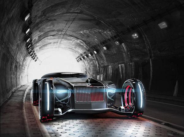 Futuristic Vintage Concept Cars