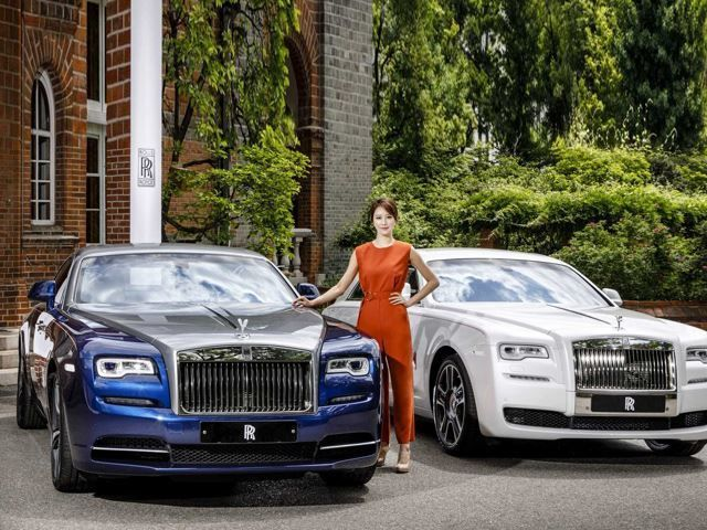 Celebratory Asian Luxury Cars