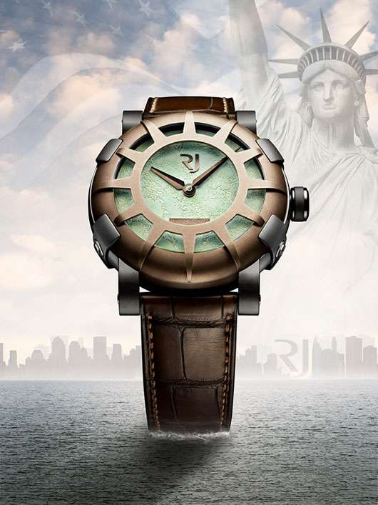 Landmark-Inspired Timepieces