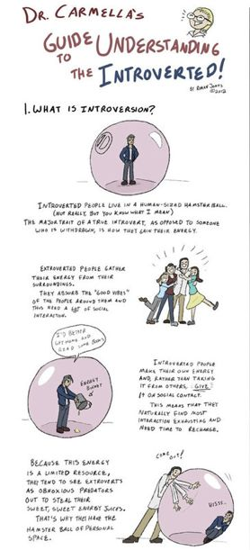 Introversion-Explaining Comics