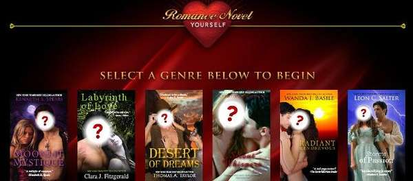 Romance Novel Yourself