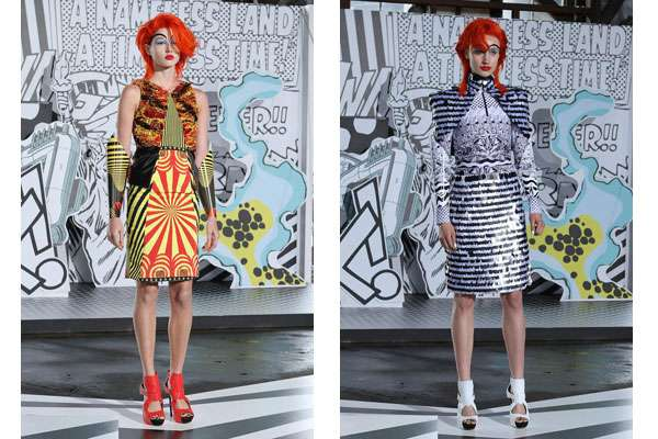 Clownish Superhero Fashion