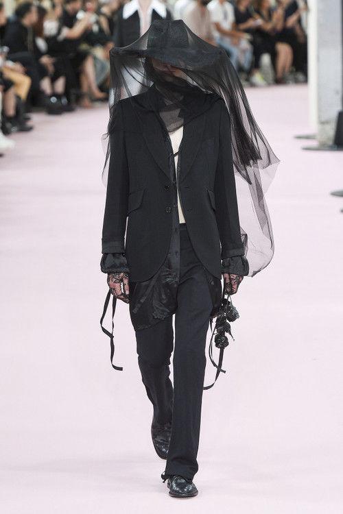 Romantic Goth Fashion Runways