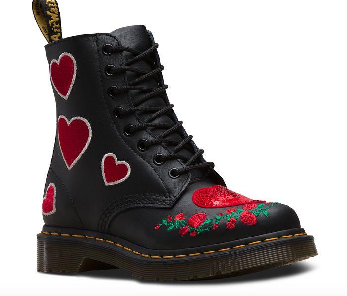 Romantic High-Top Combat Boots