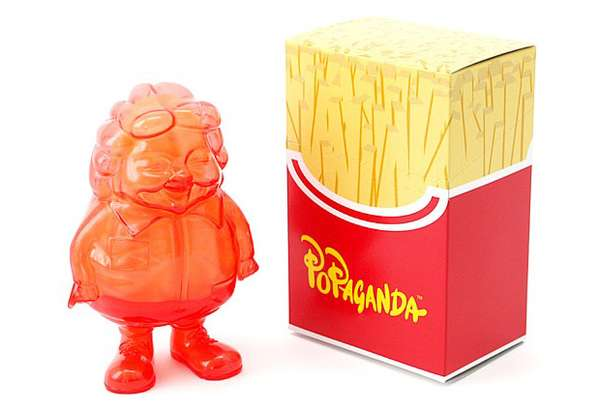 Translucent Fast Food Mascots