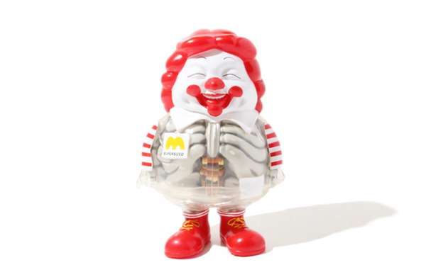 Translucent Fast-Food Clowns