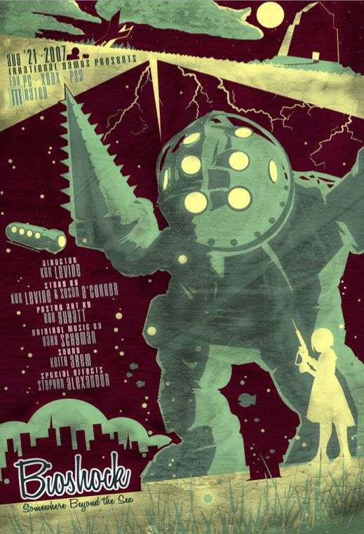 Cinematic Video Game Posters : Ron Guyatt