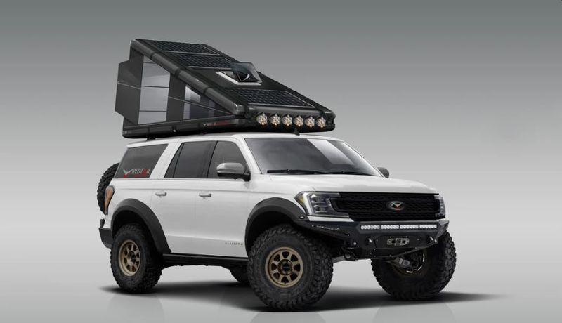 Hard-Sided Vehicular Tents