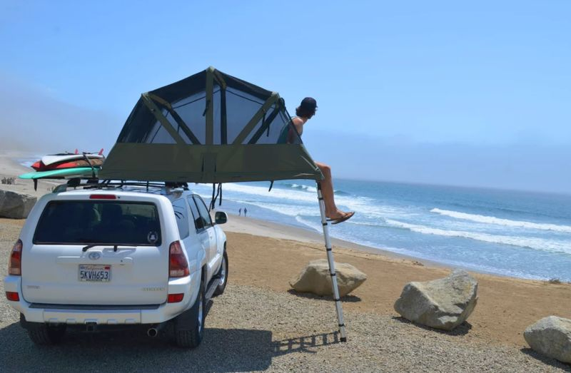 Lightweight Rooftop Tents