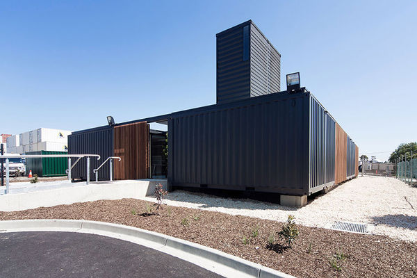 Shipping Container Headquarters