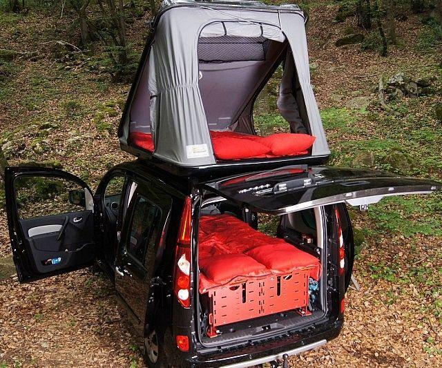 Modular Trunk Camping Kits