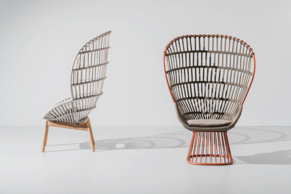 Wonderful Elaborate Woven Rope Chairs
