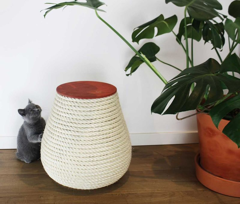 Cat-Friendly Rope Stools