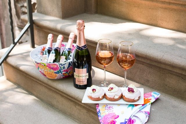 Rosé-Infused Donuts