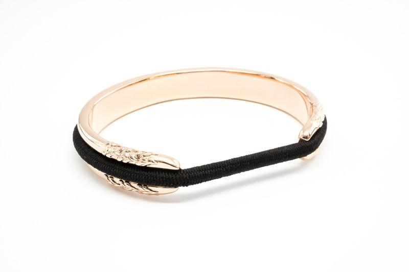 Hair Tie-Holding Bracelets   rose gold bracelet 8a8364fa4ae