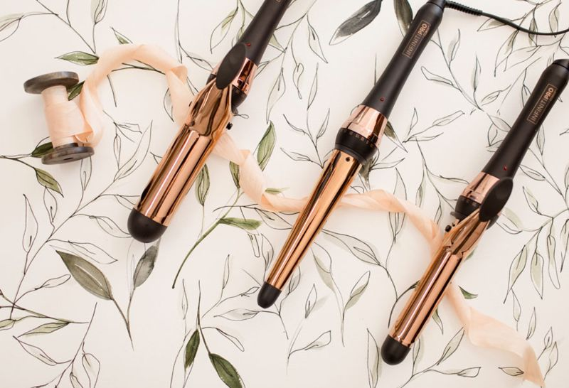 Ultra-Smooth Gliding Hair Accessories - Conair's Rose Gold Collection is Great for Summer-Ready Hair (TrendHunter.com)