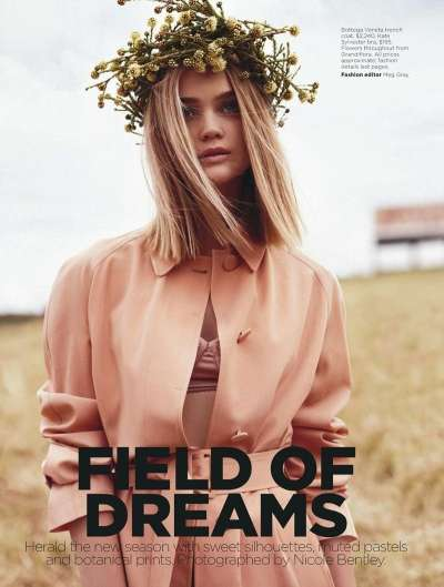 Country-Chic Editorials