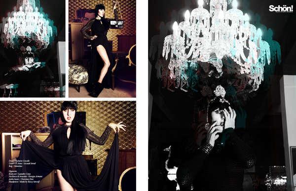 Glamorous Goth Photoshoots