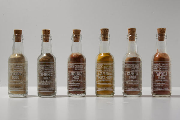 Bottled Condiment Branding