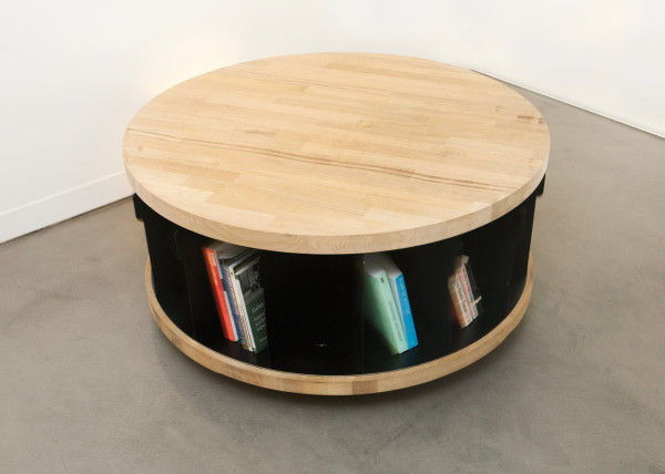 Round Rotating Bookshelves Rotating Bookshelf