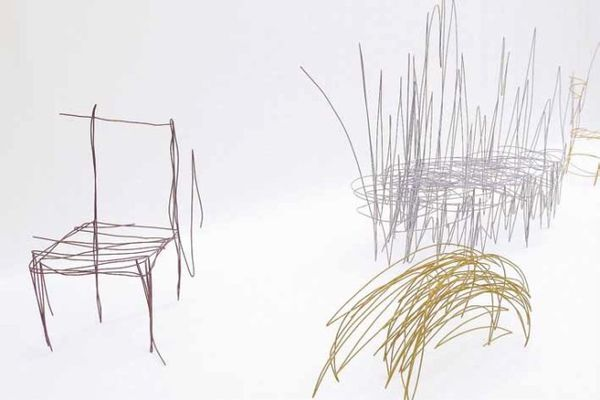 Real-Life Sketched Furniture