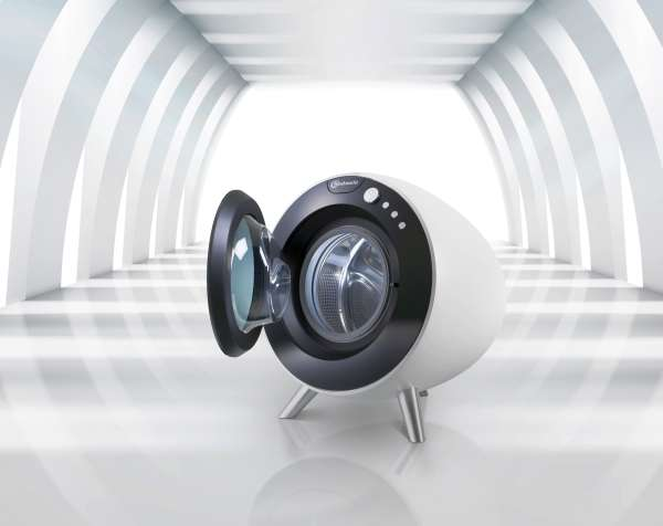 Spherical Laundry Appliances