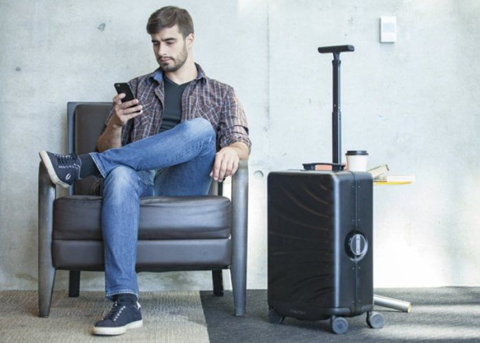 Robotic AI-Powered Suitcases