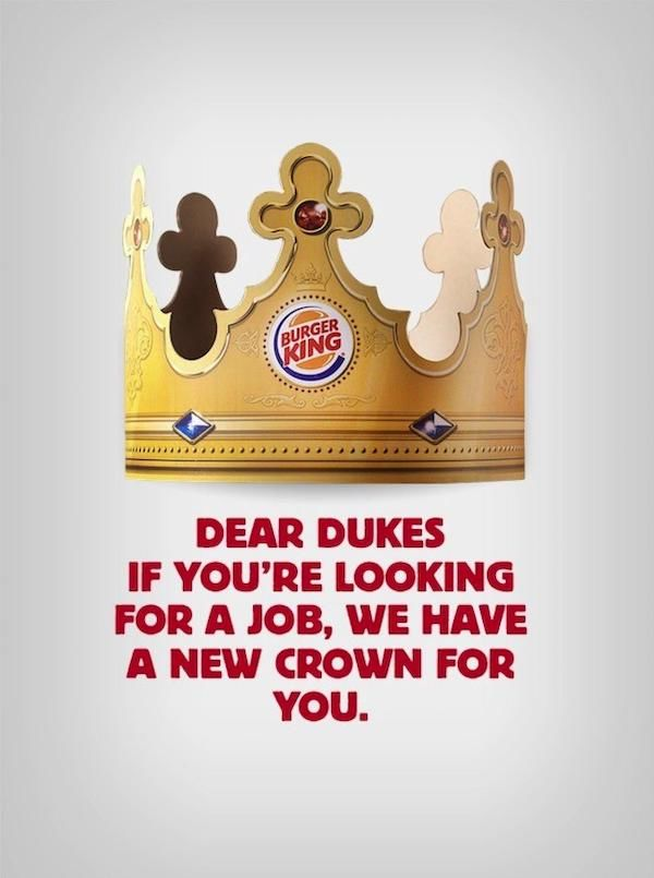 Tongue-in-Cheek Fast-Food Campaigns