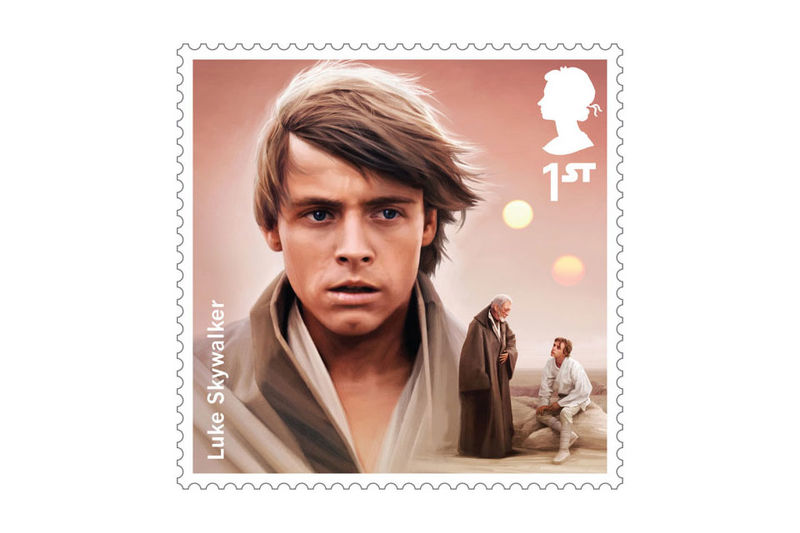 Limited Edition Sci-Fi Stamps