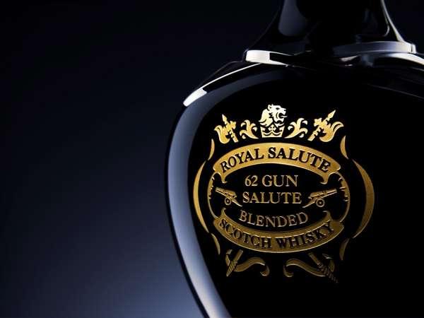 Crystalized Whiskey Bottles