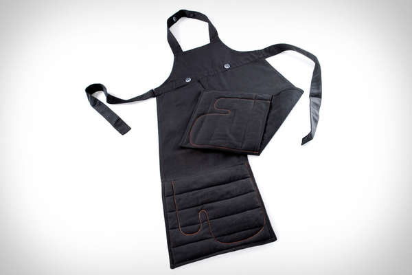 Oven Mitt-Infused Aprons