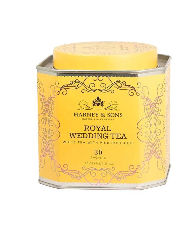 Royally Inspired Floral Teas