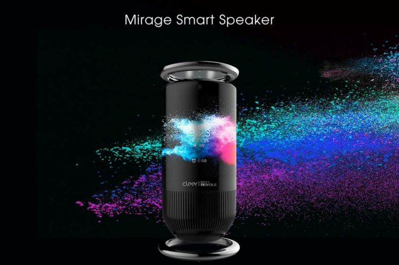 Curved AMOLED Smart Speakers